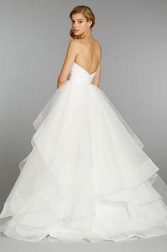 hayley paige, fall 2013 wedding dress