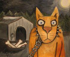 Russian artist Vasya Lozhkin painting 16