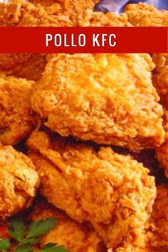 How to Make KFC Battered Chicken, Original Amethyst Recipe .- ingredient that we indicate for - Poulet Kentucky, Pollo Frito Estilo Kentucky, Kentucky Chicken, Pollo Chicken, Fried Chicken, Good Food, Yummy Food, Tasty, Meals