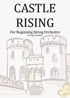 GREAT piece for beginning string orchestra  in the key of e minor - very fun!