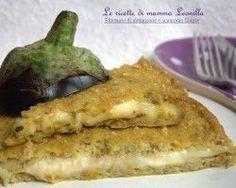aubergine and scamorza flan pie I Love Food, Good Food, Yummy Food, Tapas, Salad Cake, Veggie Dinner, Christmas Lunch, Recipe Mix, Eggplant Recipes