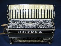 Italo American Italo Special Antosz 1934 Model Accordion~RARE COLLECTIBLE~ANTIQU #ItaloAmericanItaloSpecialAntosz1934ModelAcc