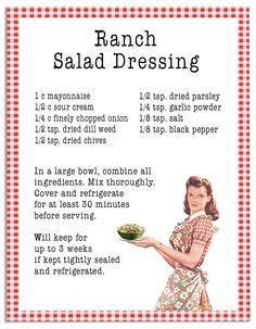 Open Gates Farm's Ranch Salad Dressing