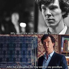 And in that we can see how much Sherlock changed and grew as a person because of John