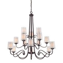 Foyer - View the Quoizel ADS5015 Adonis 15 Light 3 Tier Chandelier at LightingDirect.com.