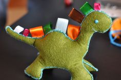 how to make stuffed animals | How to Make a Taggie Stuffed Animal Toy | IntoBaby.com