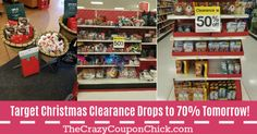 Just Announced! Target Christmas Clearance to Hit off, Missies Shopping Trip & off Starbucks! Target Deals, Christmas Clearance, Starbucks, 50th, Shopping