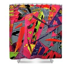 Brilliance On A Grey Day Shower Curtain by Janis Kirstein