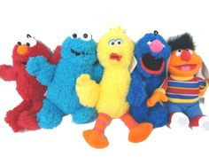 Sesame Street Elmo, Cooking Monster, Big Bird, Ernie and Grover 10 inches Soft Plush Doll Stuffed Toy Sesame Street http://www.amazon.com/dp/B004D504JA/ref=cm_sw_r_pi_dp_0wTrub02GCXF6