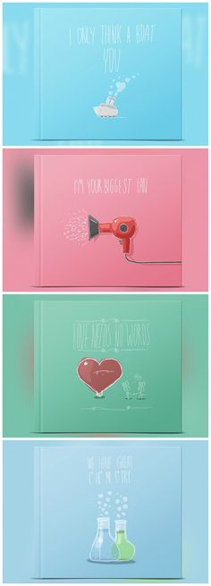 Funny puns about love on your notebook cover | A very special gift for someone you adore | Get yours at zoombook.com | http://blog.zoombook.com/all-you-need-is-lovely-notebooks/