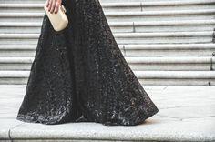Loreto Gordo - Made in Style -  Paillettes - falda de lentejuelas - red carpet - wedding look - guest - look de invitada - 24FAB