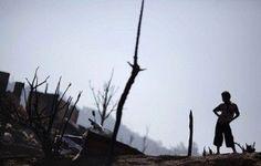 مقتل 42 شخصاً في حريق داخل مخيم للاجئين البورميين في تايلاند