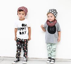 CUTEST Hipster kids EVER! Love their outfits and Cruz & Q. Presented by Today's The Best Day