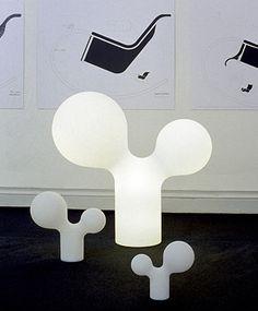 Studio Eero Aarnio furniture and lighting A Table, Table Lamp, Scandinavia Design, Modern Retro, Lamp Design, Industrial Design, Bubbles, Sculpture, Lights