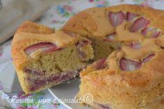 Torta 5 Minuti alle Fragole senza burro alta e soffice