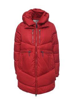 Стеганая куртка Clasna выполнена из гладкого текстиля. Модель прямого кроя с толстым слоем синтеп...