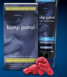 Free Sample of Bump Patrol Aftershave... works for bald heads