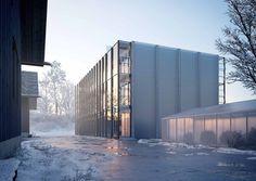 University Laboratory during Winter.
