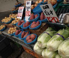 """Japanese market """"YAOYA"""""""