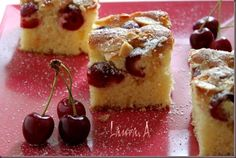Prajitura cu cirese si chec economic retete culinare prajituri. Reteta prajitura… Sweets Recipes, Desserts, Cheesecake, Cookies, Food, Tailgate Desserts, Crack Crackers, Deserts, Cheesecakes