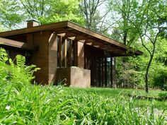 Frank Lloyd Wright's Ellis and Alice Feiman House (1954) in Canton, Ohio