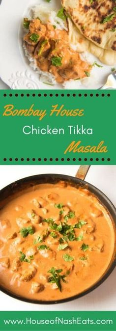 Tender chunks of chicken marinated in yogurt and spices, then grilled and served up in a creamy, spicy tomato based sauce with garlic naan and rice. Chicken Tikka Masala is the most popular Indian dish in the Western world and for good reason - it's unbelievably delicious.