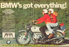 1974 BMW R90/6 – BMW's got everything!