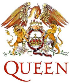 Queen are a British rock band formed in London in originally consisting of Freddie Mercury, Brian May, John Deacon, and Roger Taylor. Is Queen - Bohe Queen Freddie Mercury, Queen Logo, Rockband Logos, Queen Banda, Bryan May, Band Stickers, Laptop Stickers, Queens Wallpaper, Music Wallpaper