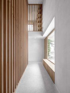 Architect Daniel Ellecosta - Project - House in Hörmannweg - Contemporary Interior Design, Contemporary Architecture, Architecture Details, Interior Architecture, Interior Cladding, Nordic Design, New Homes, House Design, Home Decor