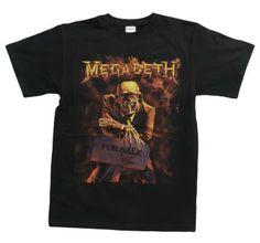 Megadeth Peace Sells  #music #rock #metal #classics #bands #megadeth #men #shirt #shirts #tshirts