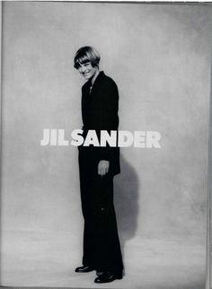 ☆ Linda Evangelista | Photography by Peter Lindbergh | For Jil Sander Campaign…