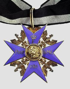 Pour Le Merite Hermann Hesse, Country Information, Military Awards, Erwin Rommel, Medal Ribbon, Frederick The Great, Military Decorations, Military Orders, Badges