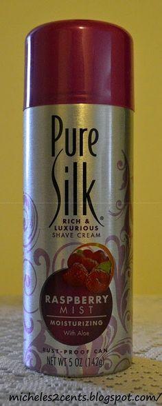 Pure Silk Shave Cream (Raspberry Mist)