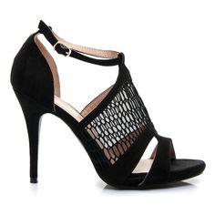 AŻUROWE SANDAŁY - czarny > CzasNaButy.pl > buty i torebki