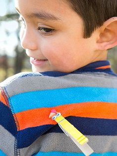 Grateful for Fun: Family Thanksgiving Crafts, Games, and Activities: Tail Feather Tag (via Parents.com)