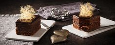 Chocolate Pistachio Layer Cake