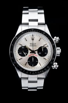 Rolex Daytona 'Paul Newman' Chronograph, Ref: 6263 Dream Watches, Fine Watches, Luxury Watches, Cool Watches, Watches For Men, Wrist Watches, Vintage Rolex, Vintage Watches, Watches Rolex