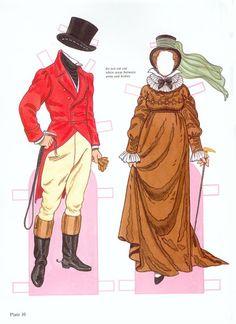 Fashion of the Regency Period Paper dolls by Tom Tierney - irish123nd mix - Picasa Webalbum