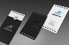 Hero film Business card: