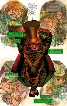 Mad Hatter Julian Day, Gotham Characters, Fish Mooney, Mafia Crime, Love And Logic, Comic Drawing, Batman Universe, Batman Art, Gotham City