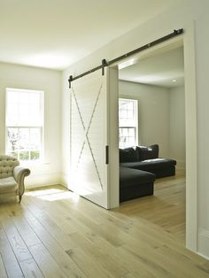 Living Room Design, Pictures, Remodel, Decor and Ideas - page 12 Love this door for a cottage