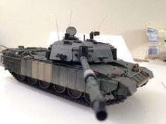 1/35 challenger 2 tank