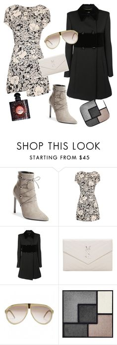 """""""ysl"""" by miha-jez ❤ liked on Polyvore featuring Yves Saint Laurent"""