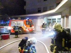 Brand in Tiefgarage eines Hochhauses in Reutlingen http://www.feuerwehrleben.de/brand-in-tiefgarage-eines-hochhauses-in-reutlingen/ #feuerwehr #firefighter