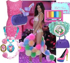 """""""candy colors"""" by sprinkle-288 on Polyvore"""