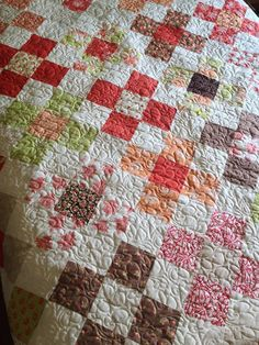 Large Granny Square Quilt