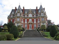 Chateau Impney Hotel, Droitwich, England - I would love to spend the night here.