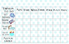 Looking for a Free Printable Job Chart For Preschool. We have Free Printable Job Chart For Preschool and the other about Printable Chart it free. Free Printable Chore Charts, Chore Chart Kids, Free Printables, Printable Calendars, 4 Year Old Chores, Responsibility Chart, 4 Year Old Boy, Sticker Chart, Job Chart