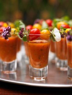 5 Quick and Creative Fall Wedding Appetizers | Green Bride Guide