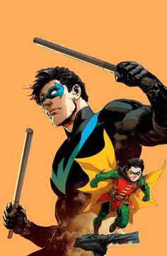 Robin to Nightwing